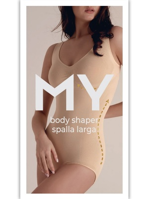 MY Боди женское BO117 BODY SHAPER SPALLA LARGA в Екатеринбурга